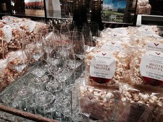 popcorn at BAFTAs