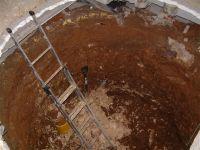 x & Installing an underground spiral cellar