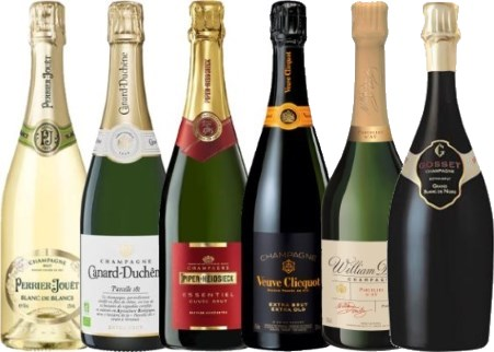 6 new champagnes