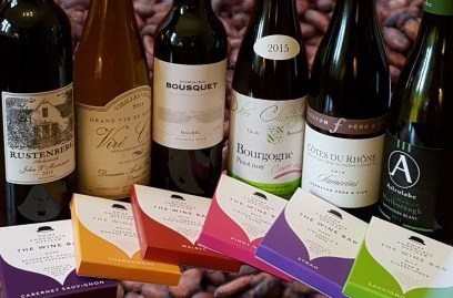 wine chocolate matching