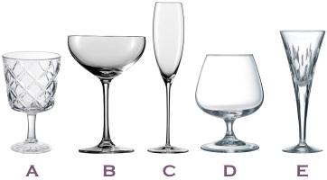 which glass for petite champagne