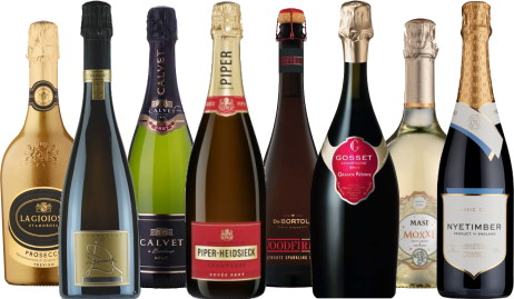 sparkling wines for Chirstmas